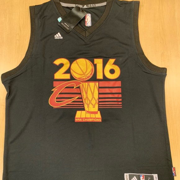 finest selection 2957a 5bf6c LeBron James Cavaliers 2016 NBA Champions Jersey